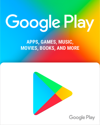 Google play  25$ US