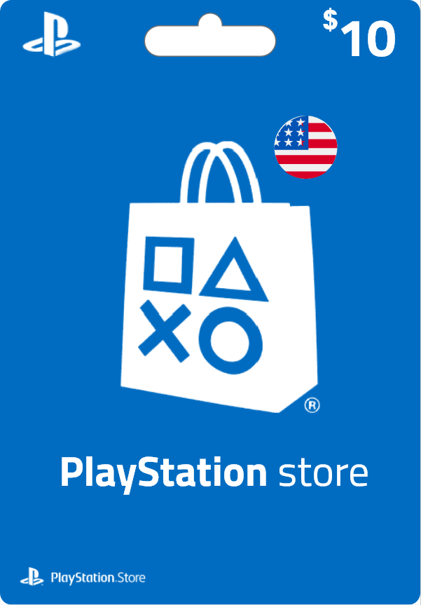 Playstation PSN Card 10$