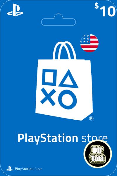 Playstation PSN Card 10$