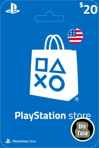 Playstation PSN Card 20$