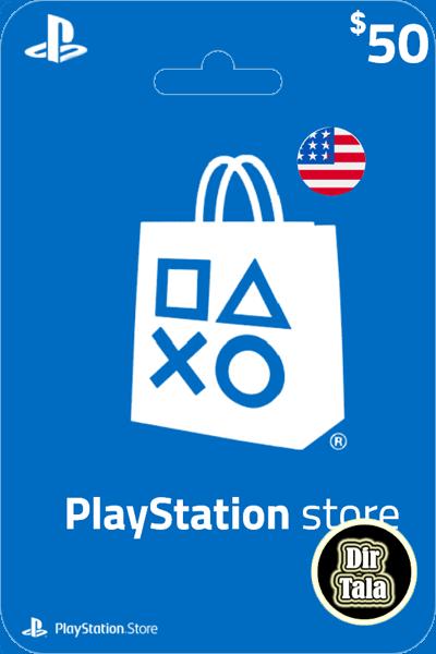 Playstation PSN Card 50$