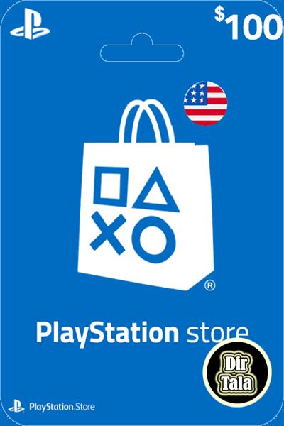 Playstation PSN Card 100$
